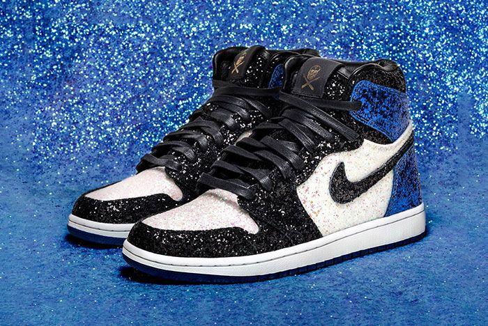 Shoe Surgeon Air Jordan 1 Fragment Crystal Paris3 Pair