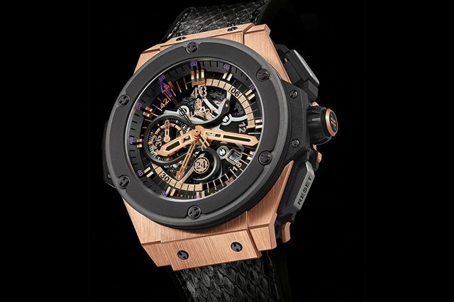 Kobe Bryant Hublot King Power Black Mamba King Gold 2