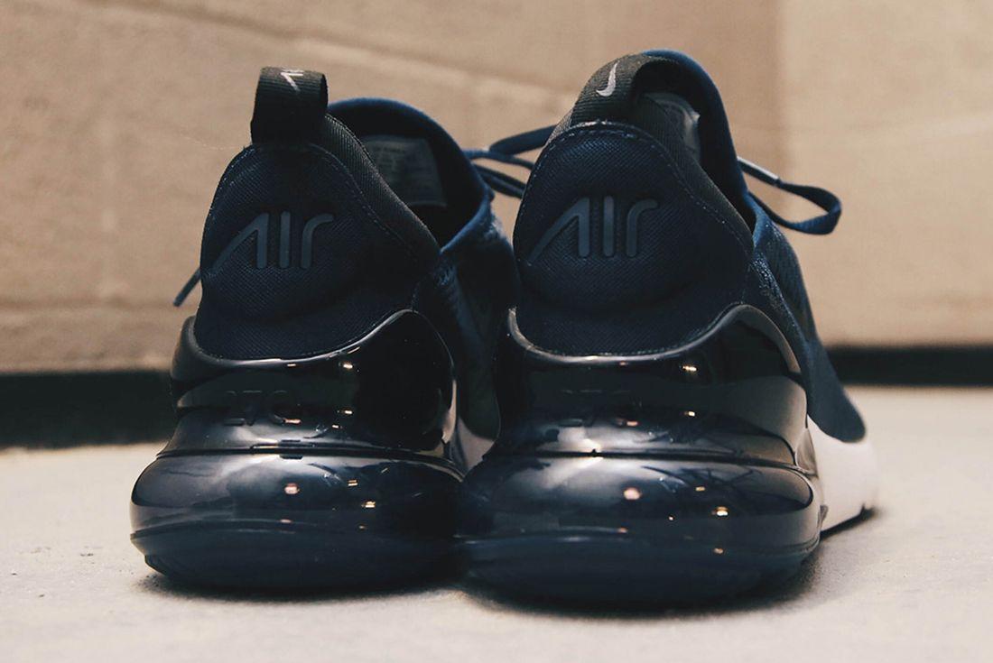 Nike Air Max 270 Midnight Navy Sneaker Freaker 4