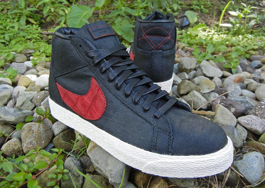 Nike Blazer Mid Suede Croc Jbf Customs 3