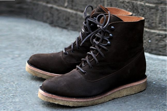 Fieg Caminando Office Boots Brown Hero 1