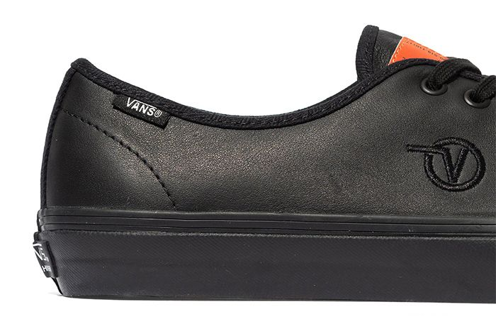 Taka Hayashi Vans Authentic One Piece Black Leather Release Date Heel