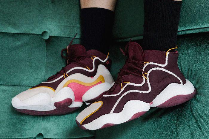 3Eric Emanuel Adidas Crazy Byw Burgundy 1