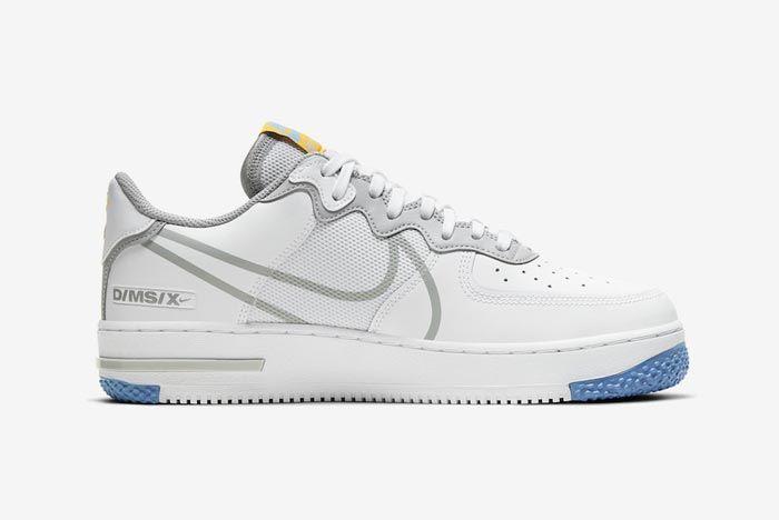 Nike Air Force 1 React Uni Gold Medial