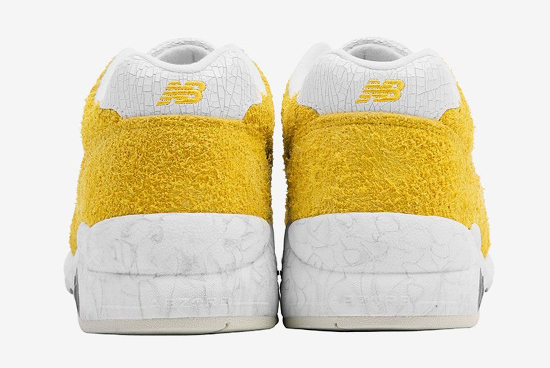 Randomevent X New Balance 580 Yellow 3 Heel