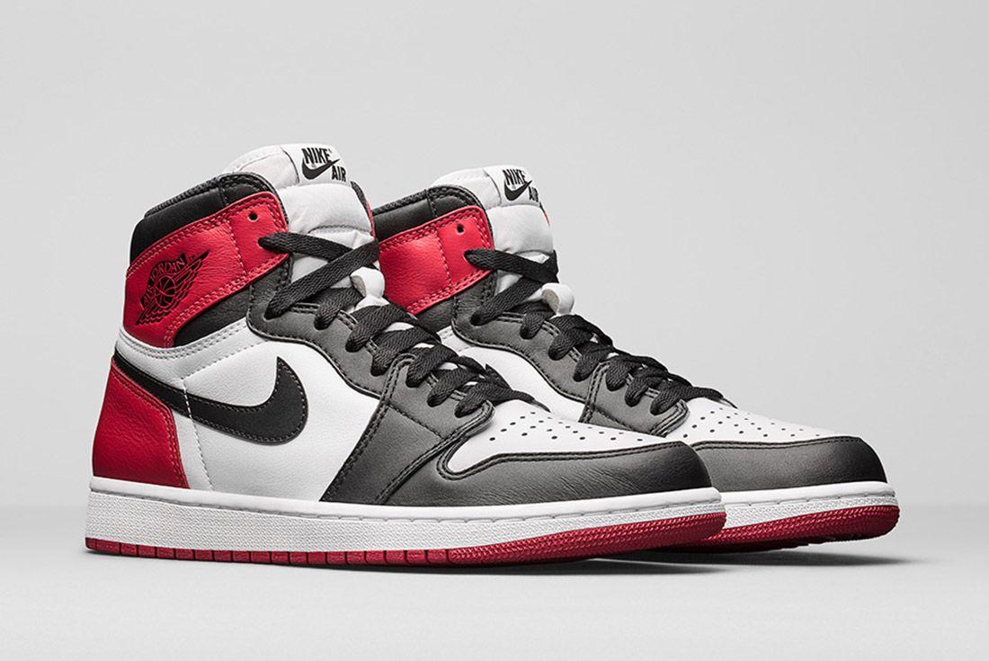 Material Matters Leather Black Toe Jordan