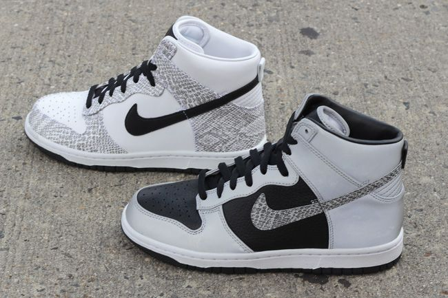 Nike Dunk High Sp Cocoa Snake Pack Both
