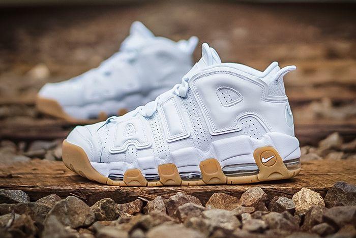 Nike Air More Uptempo ' White Gum' A