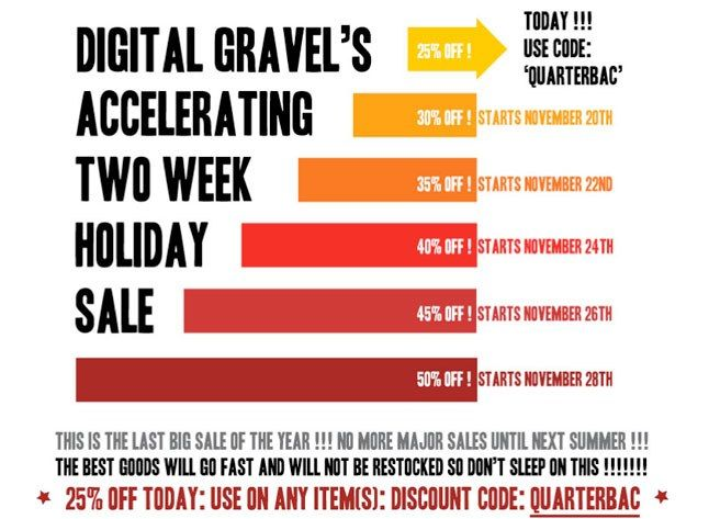 Digital Gravel Sale 1