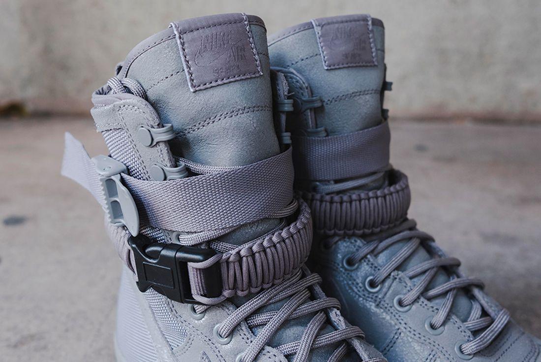Nike Sf Air Force 1 Grey 7