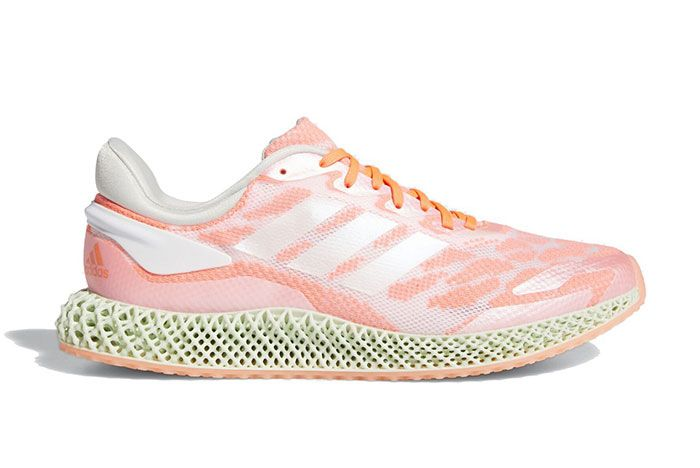 Adidas 4D Run 10 Signal Coral Right