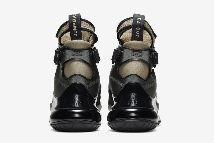 Jordan Air Latitude 720 Sequoia Trooper Black Heels