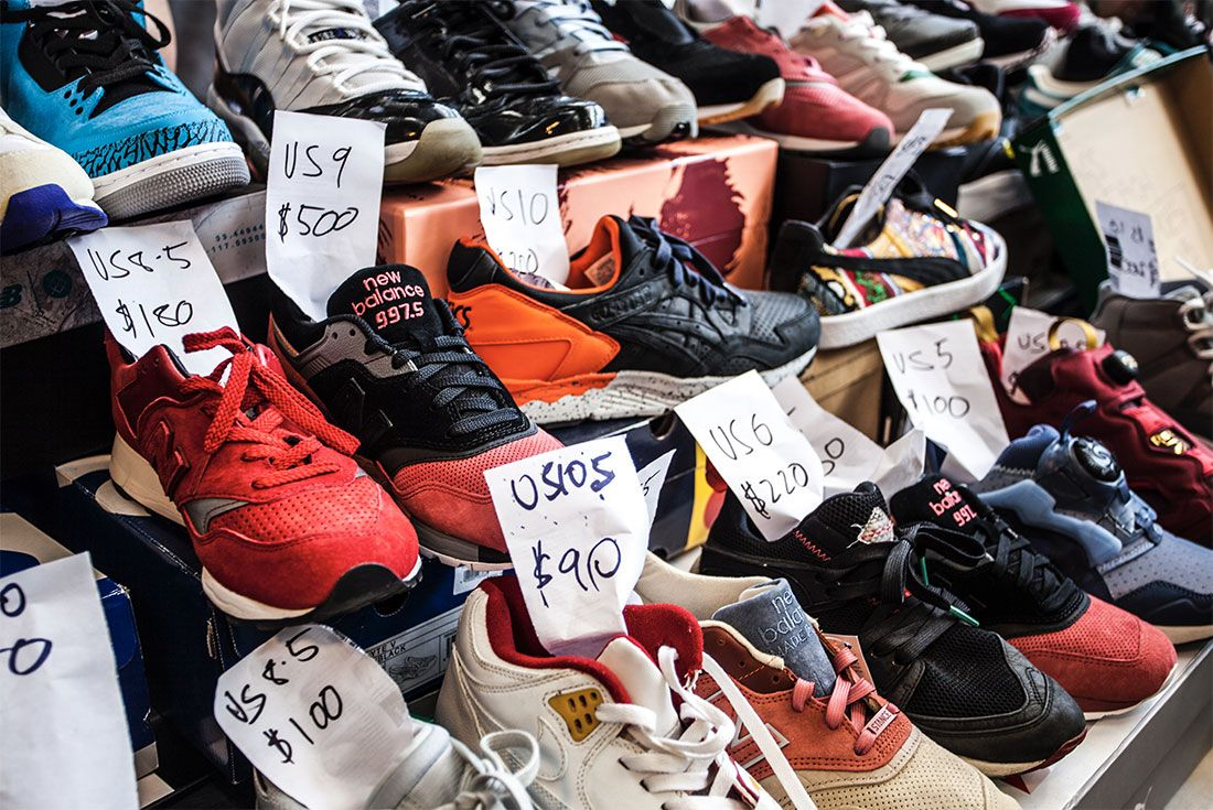 Reseller Stall Sneaker Freaker Swap Meet