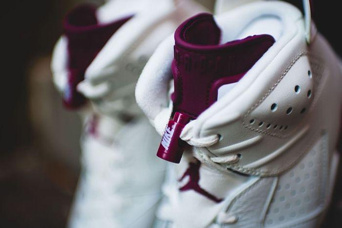Nike Air Jordan 6 Retro Maroon 8