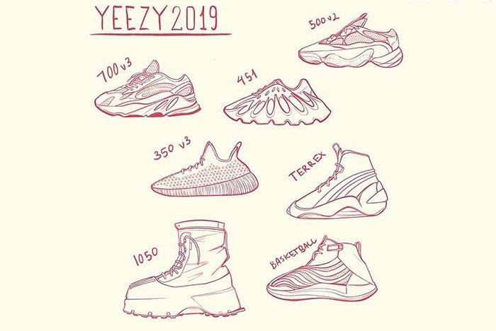 2019 Yeezy Lineup Sneaker Freaker