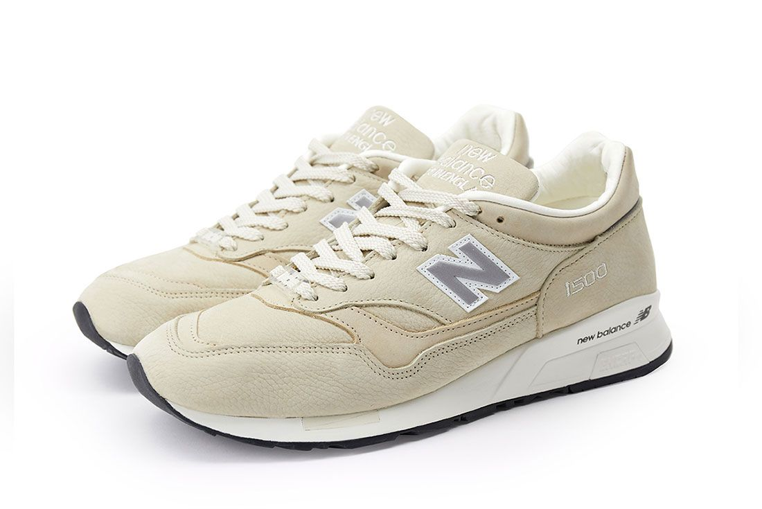 Pop New Balance 1500 Pearl White Pair Side 2