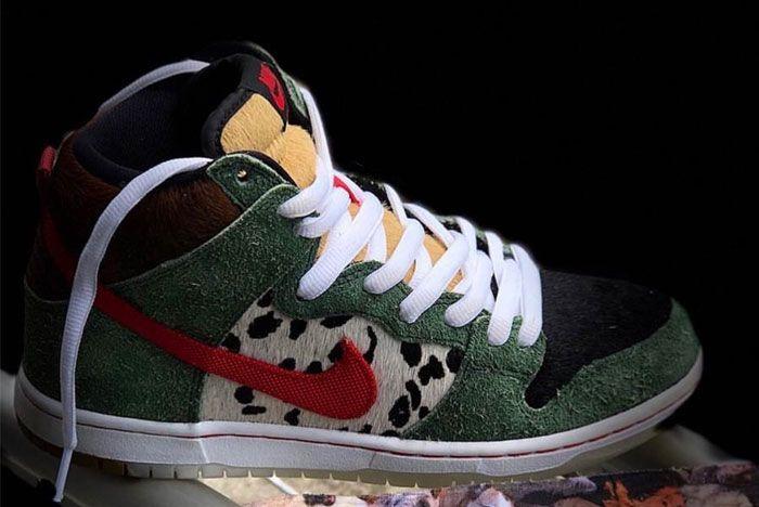 Nike Sb Dunk High Dog Walker Right