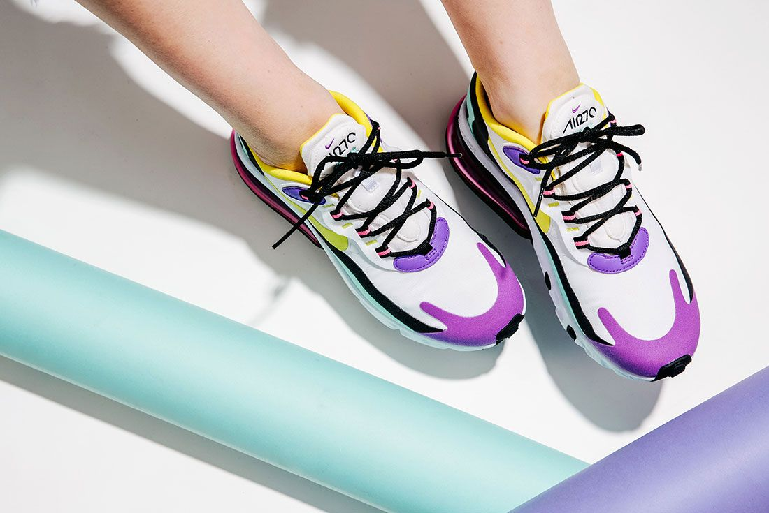 Nike Air Max 270 React Jd Sports Au On Foot Header