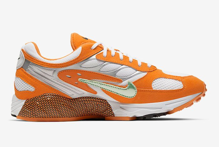 Nike Air Ghost Racer Orange Peel At5410 800 Medial