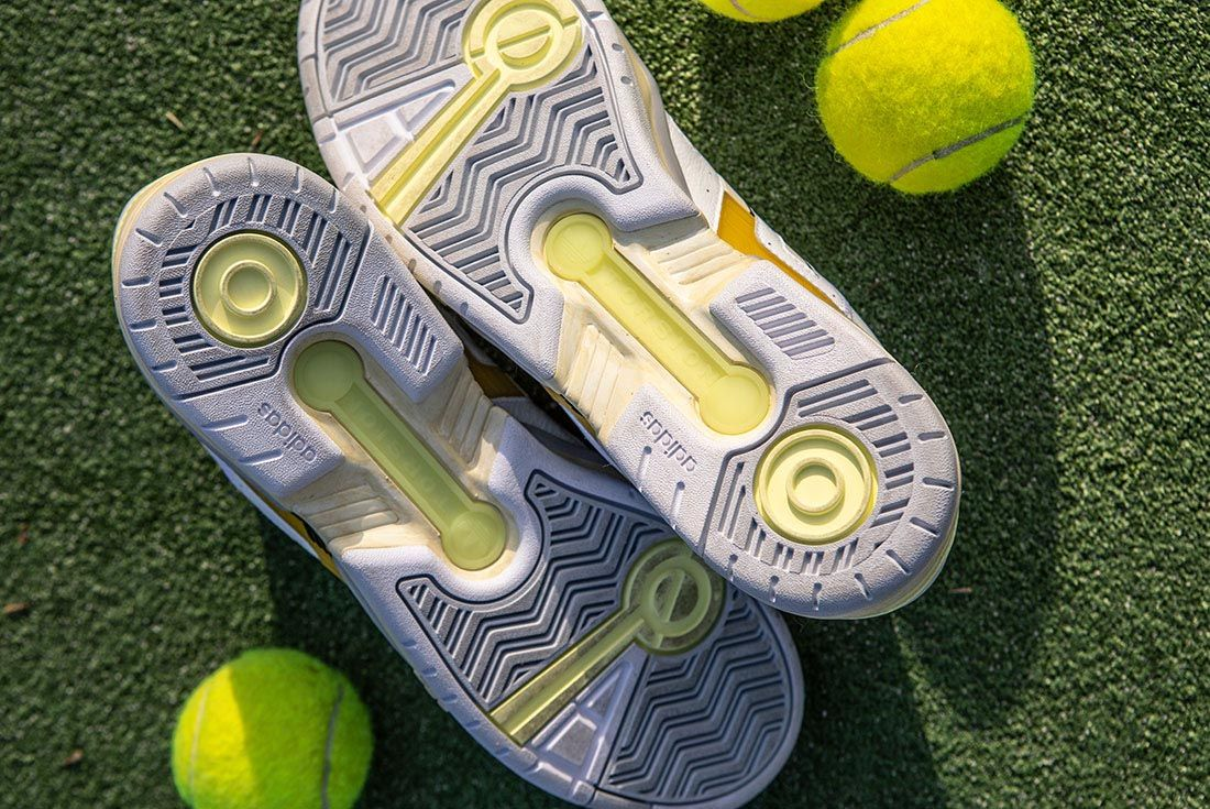 Highs And Lows Adidas Consortium Torsion Edberg Comp Release Date Sneaker Freaker Outsole Ball Grass
