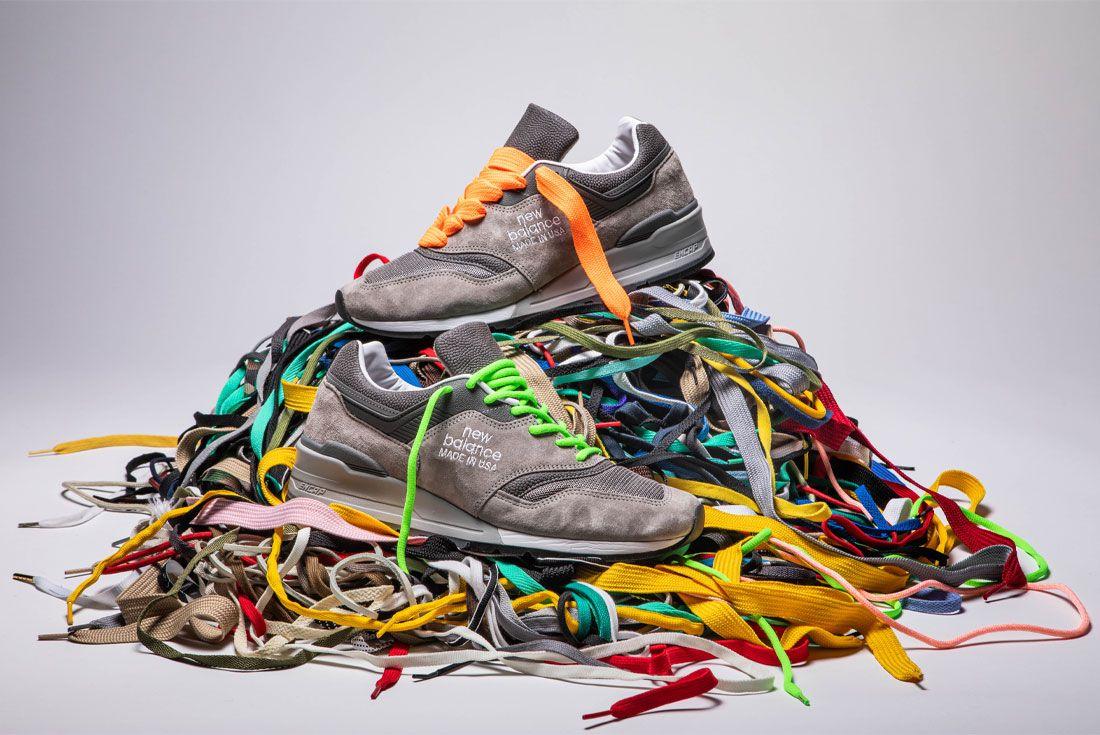New Balance 997 Shoelace Pile