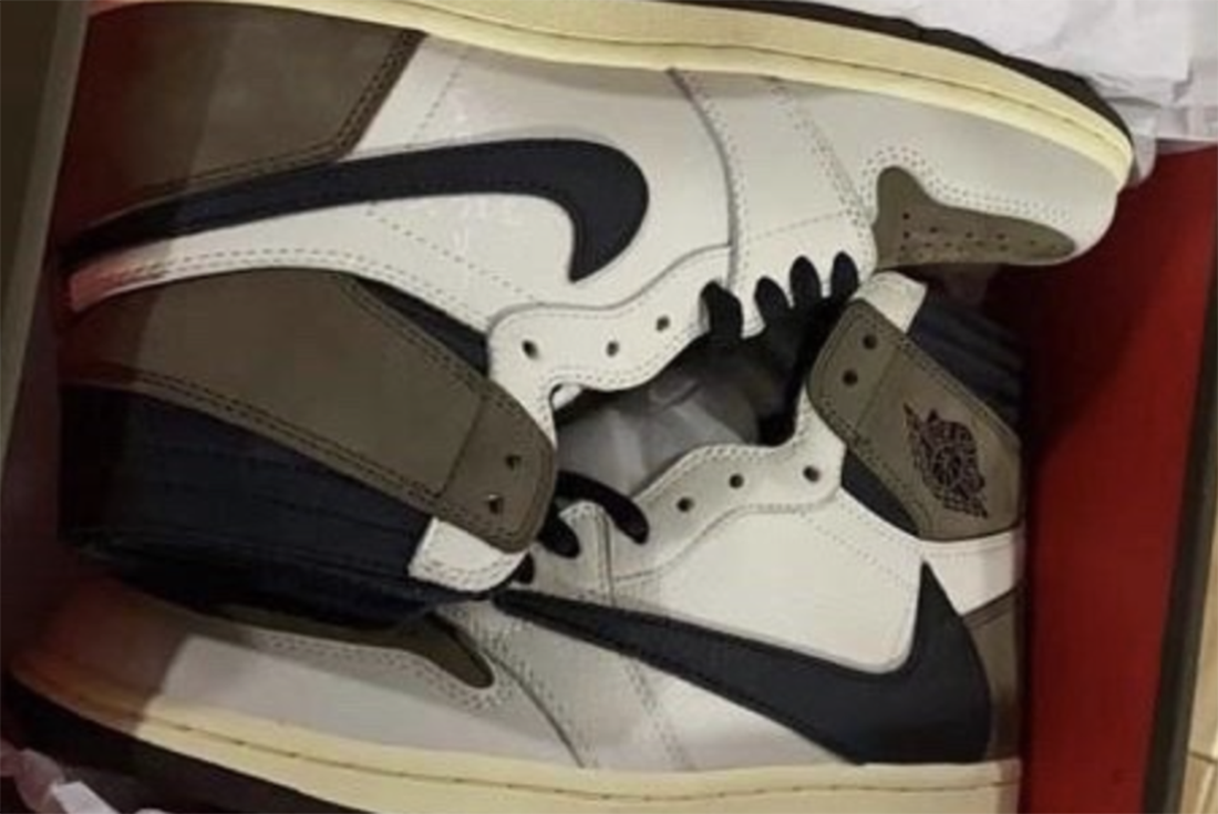Travis Scott x Air Jordan 1 Sample leak