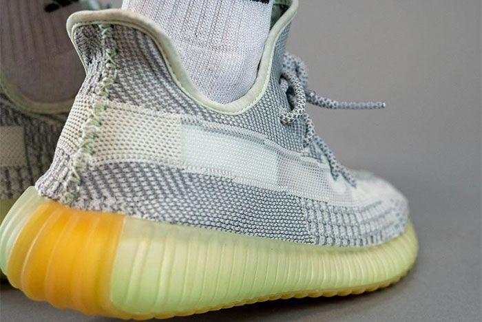 Adidas Yeezy 350 V2 Yeshaya On Foot Heel