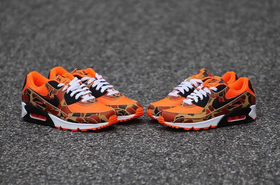 Nike Air Max 90 Orange Camo