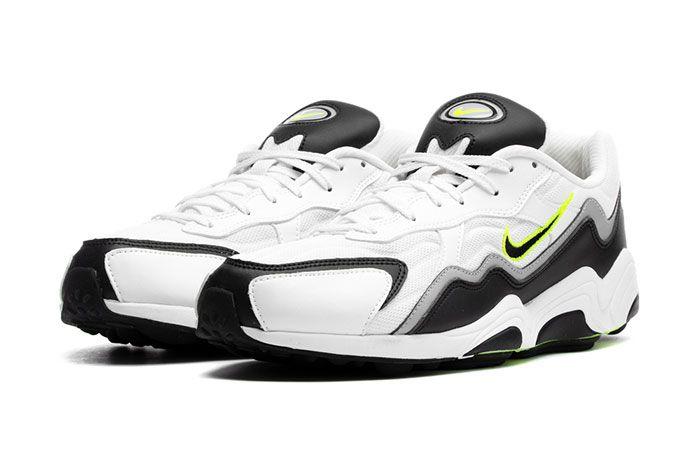 Nike Zoom Alpha Bq8800 002 Black Volt Wolf Grey White Front Angle Shot 1
