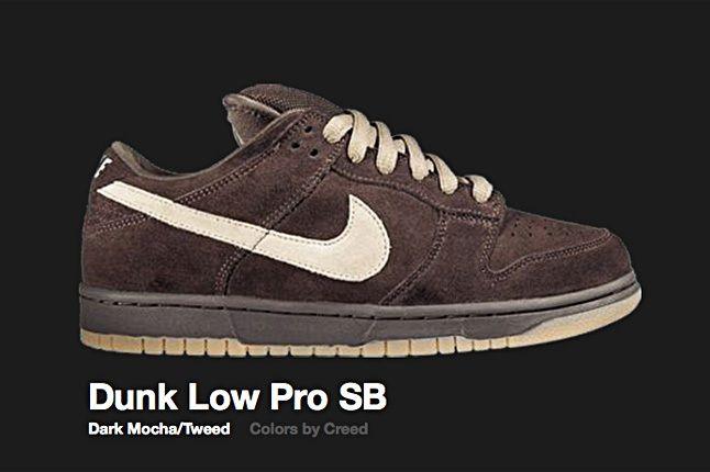 Nike Dark Mocha Tweed Dunk Low Pro Sb 2007 1