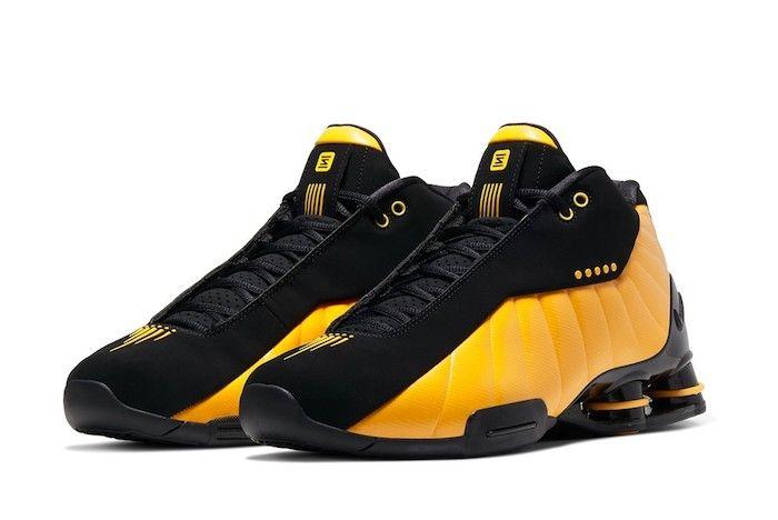 Nike Shox Bb4 University Gold 3