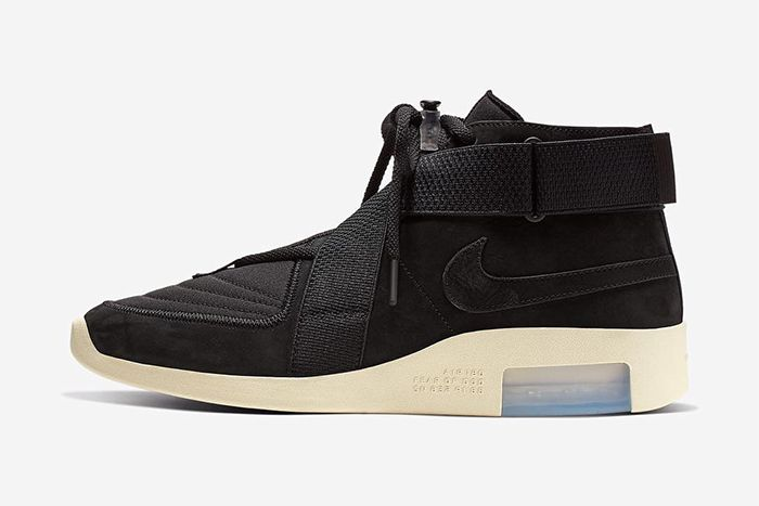 Nike Air Fear Of God 180 Black Release Date Info Lateral