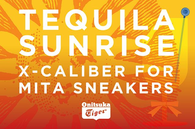 Mita Sneakers Onitsuka Tiger X Caliber Tequila Sunrise 4