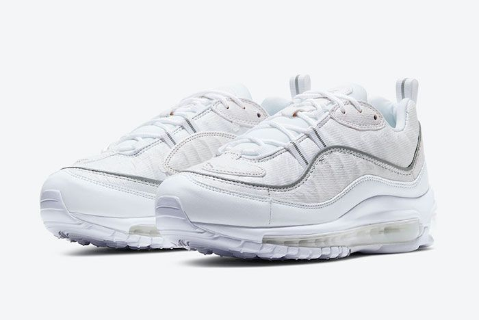 Nike Air Max 98 Tear Away Cj0634 101 Front Angle