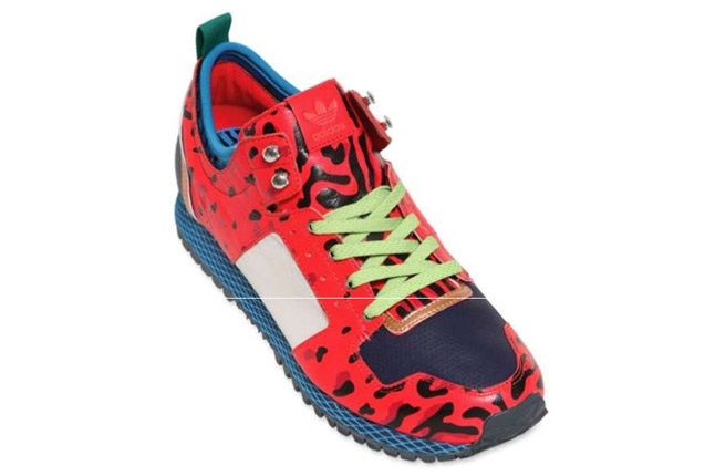 Adidas Opening Ceremony New York Red Leopard Top 1