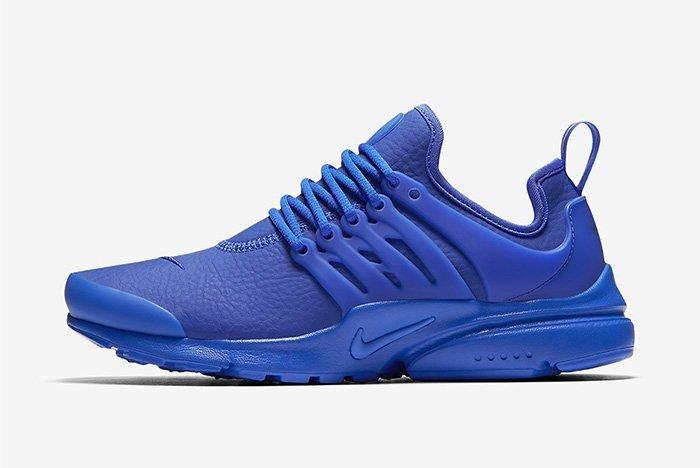 Nike Air Presto Leather Paramount Blue 2
