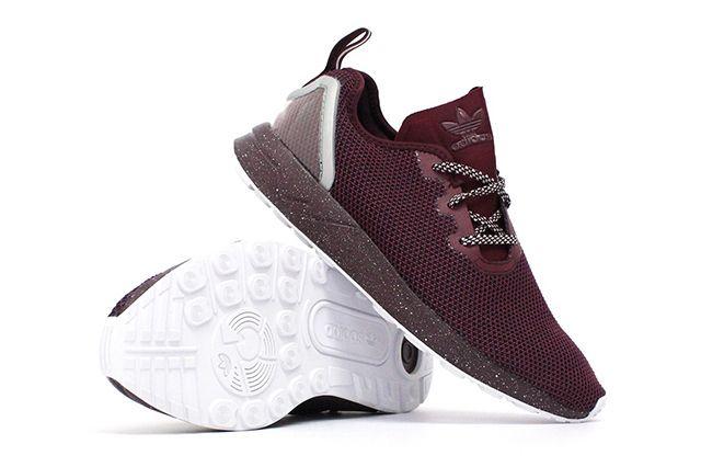 Adidas Zx Flux Adv Maroon
