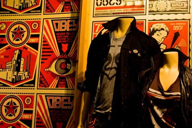 Obey Levis Live Installation Shepard Fairey Time Square 11 1
