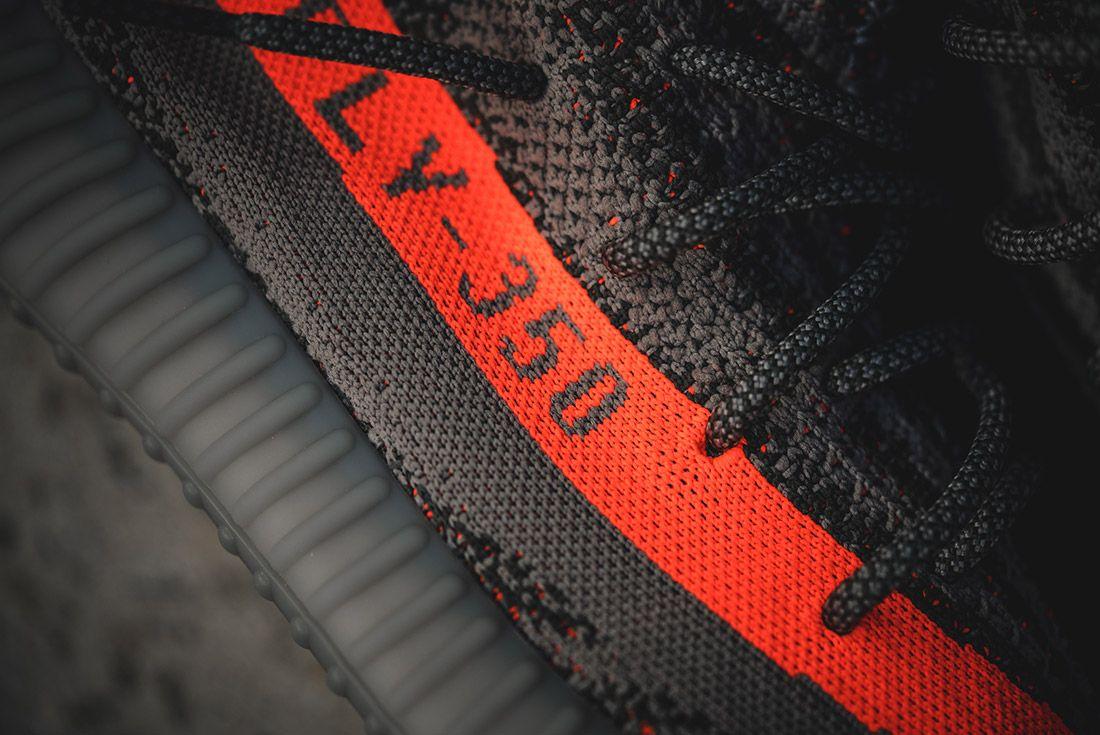 Adidas Yeezy V2 350 Beluga Grey Solar Red 8