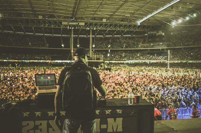 Eminem The Rapture M Phazes Melbourne 16