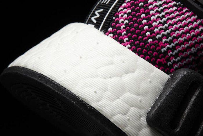 Adidas Nmd Ra Primeknit Pink Rose Black White 1