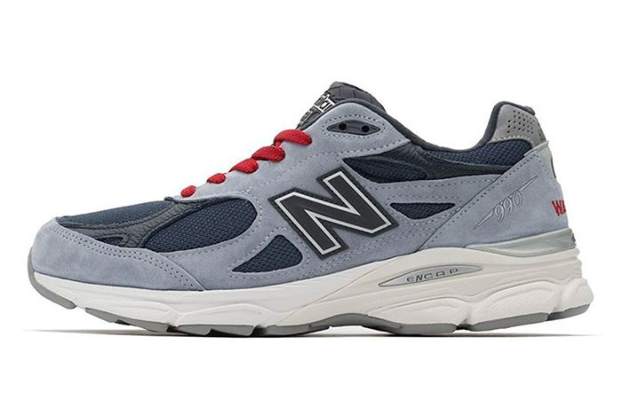 No Vacancy Inn New Balance 990 V3 Lateral Side Shot