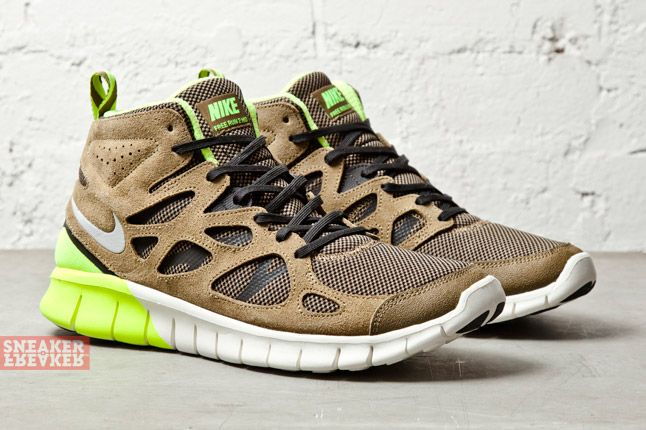 Nike Free Run V2 Mid (Light Umber/Dusty