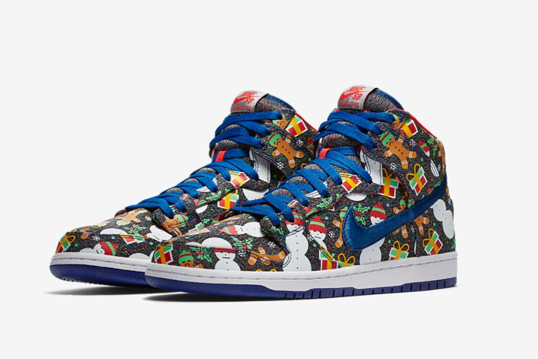 Conceptsnike Sb Ugly Christmas Sweater Dunk 2