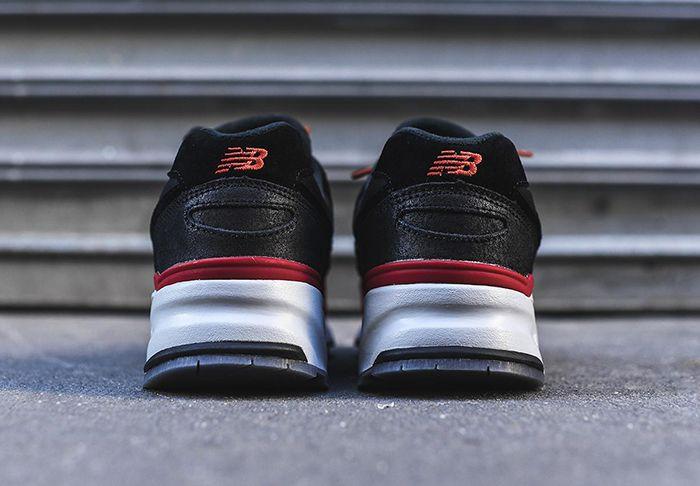 New Balance 999 Black Red Toe 3