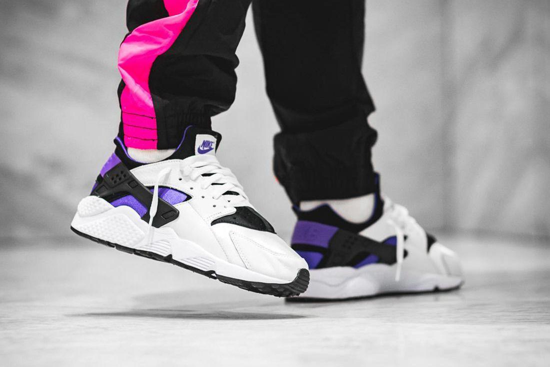 Nike Air Huarache Run 91 Qs 2018 Purple Punch 7