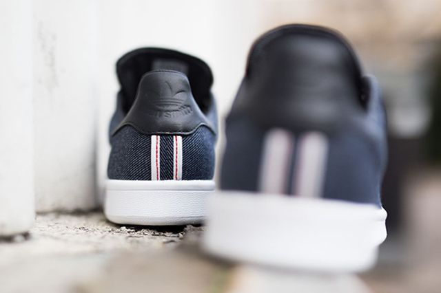 Adidas Stan Smith Denim Black Kopie 3