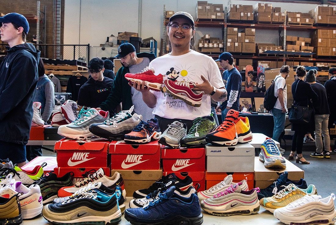 Sneaker Freaker Swap Meet October 201986
