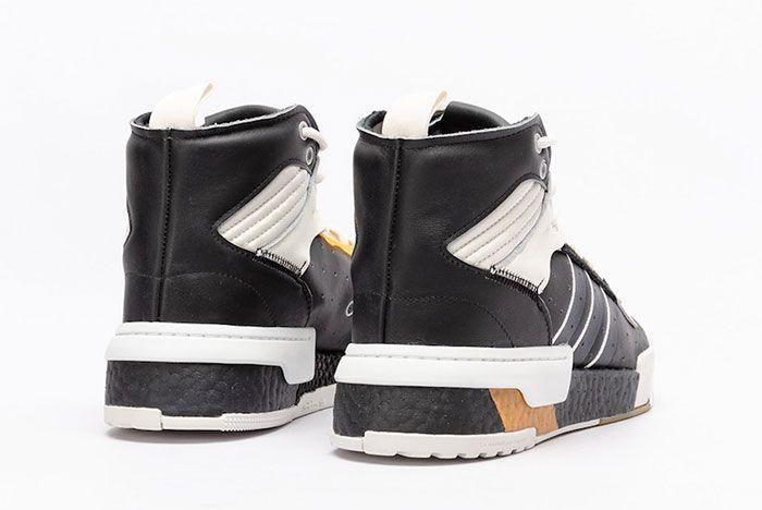 Adidas Rivalry Rm Core Black White Ee4984 Rear Angle