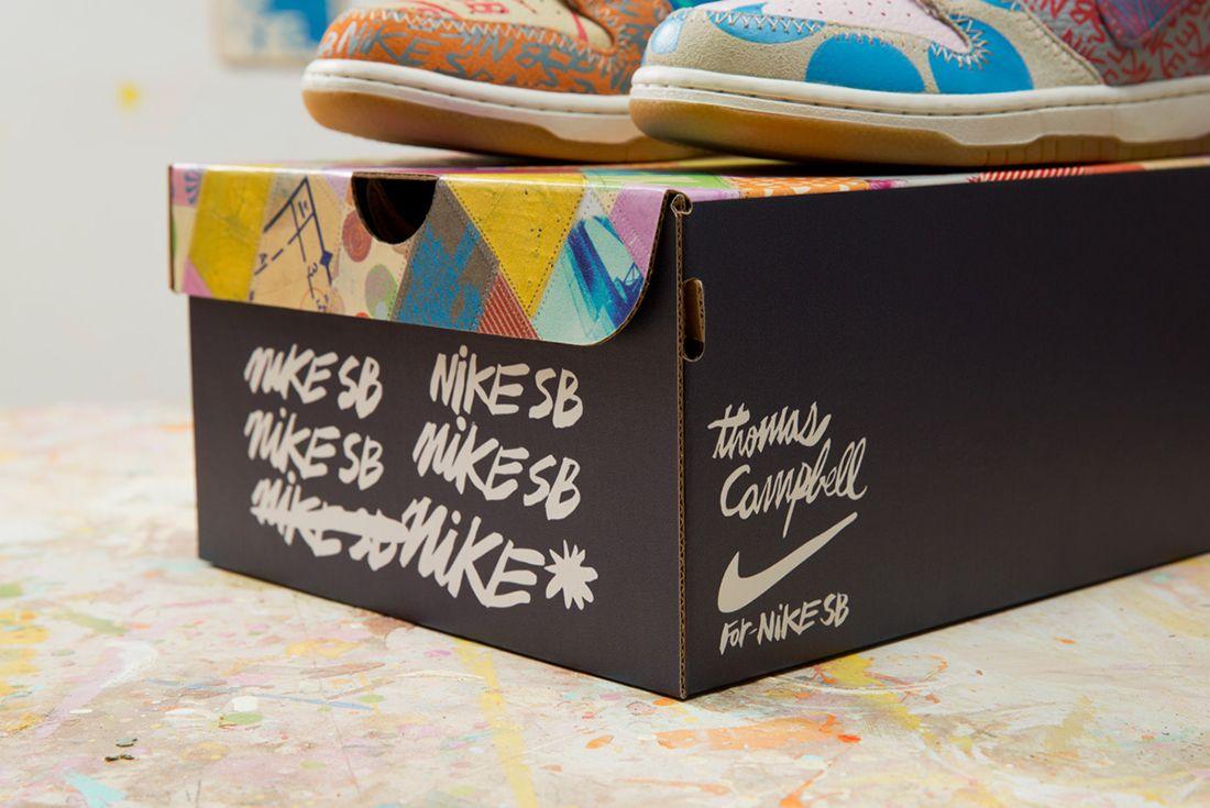 Thomas Campbell X Nike Sb Dunk High Premium What The2